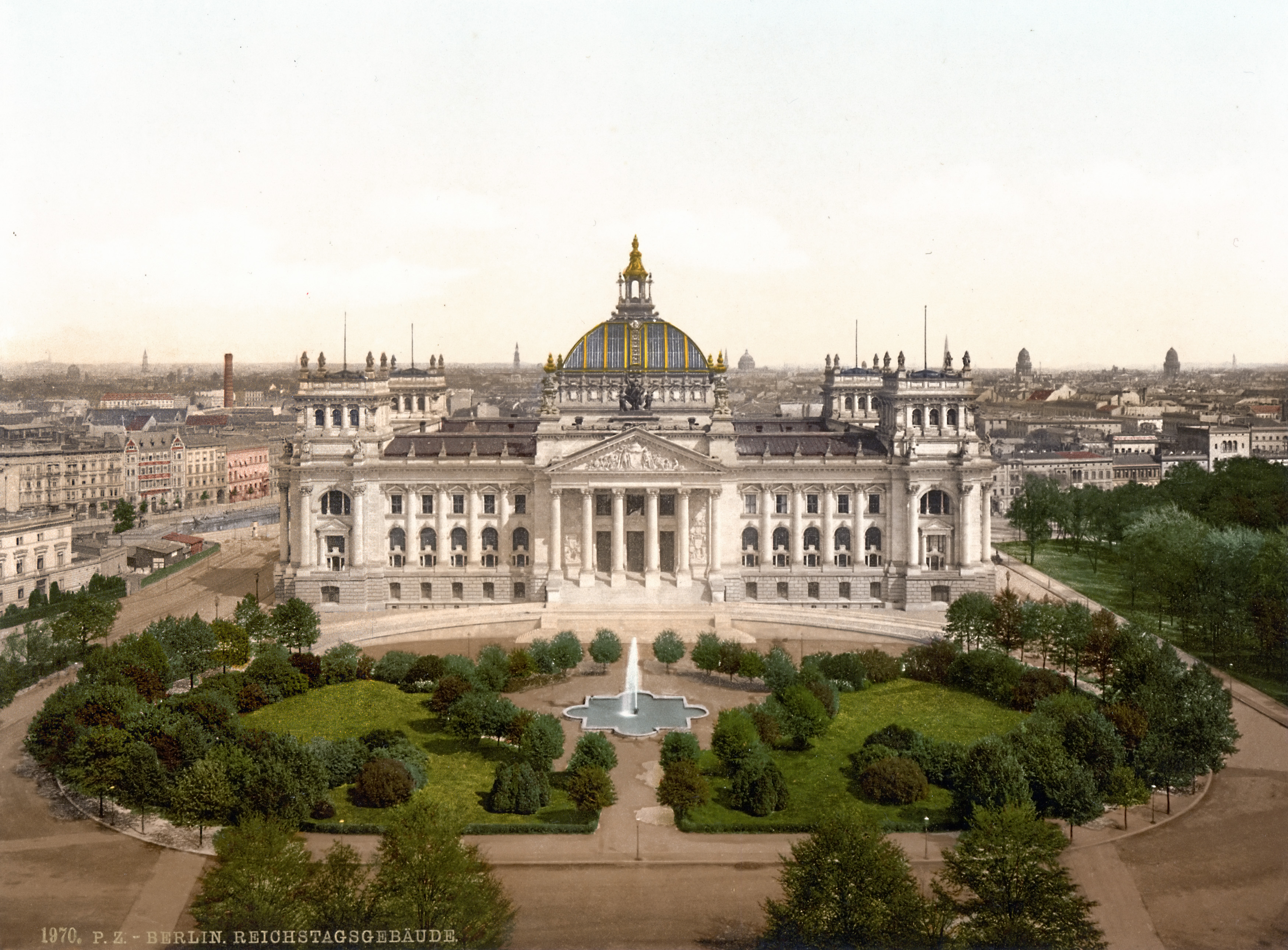 Reichstagsgebäude ca. 1870er