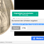 Wikipedia hilft bei der Namensnennung